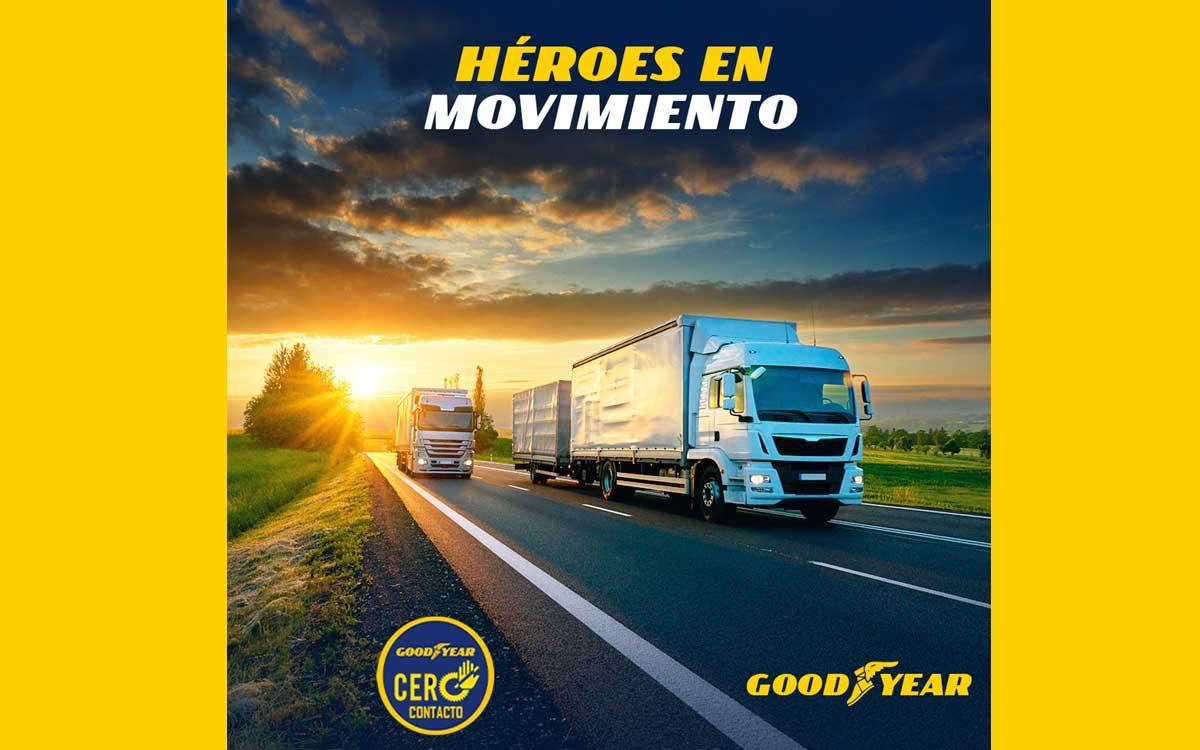 Goodyear lanza campaña Héroes en Movimiento en sus redes sociales
