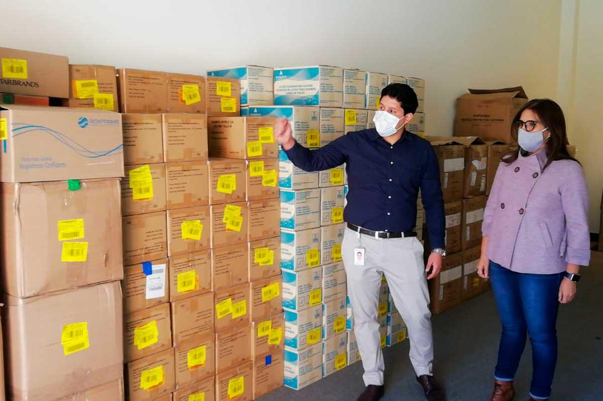Arequipa recibe donación de Intercorp, Inkafarma y Comparte Salud