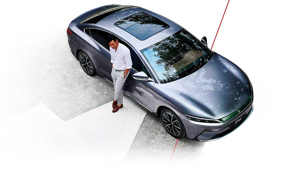 BYD presentó en Europa su Han EV premium