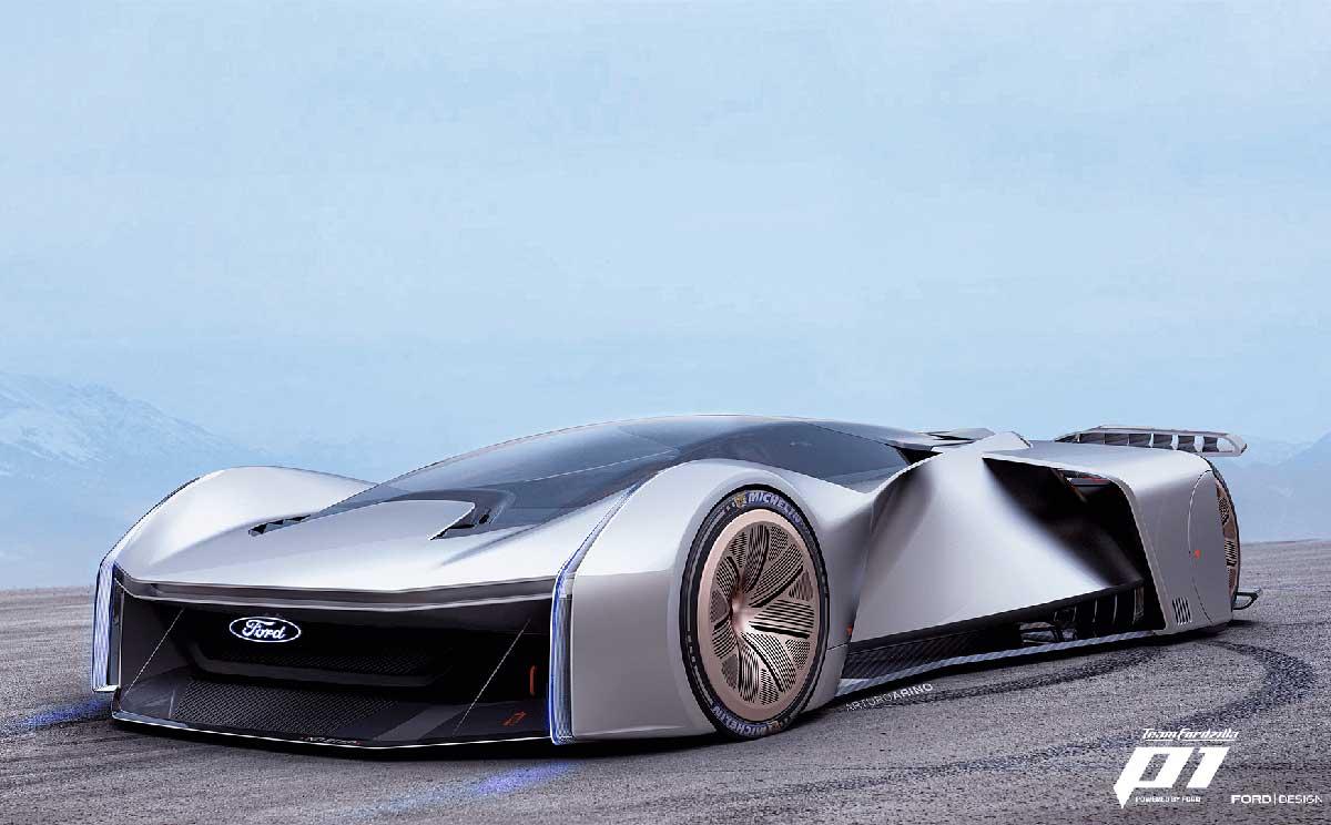 En el Gamescom 2020 Ford causa sensación con su vehículo de competición virtual