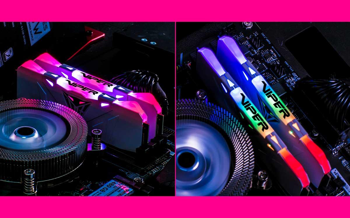 PATRIOT presenta la Memoria DDR4 de la serie Viper RGB de VIPER GAMING