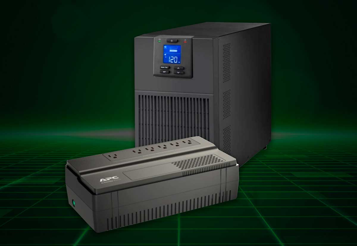 Protección energética en pequeñas y medianas empresas con un UPS