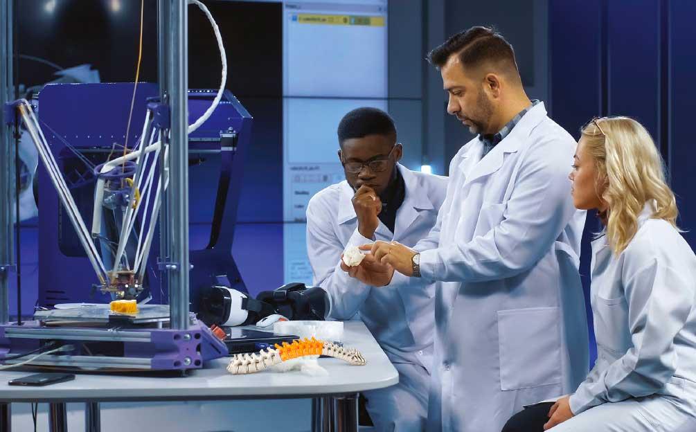 Ricoh innova en el sector salud con equipos 3D