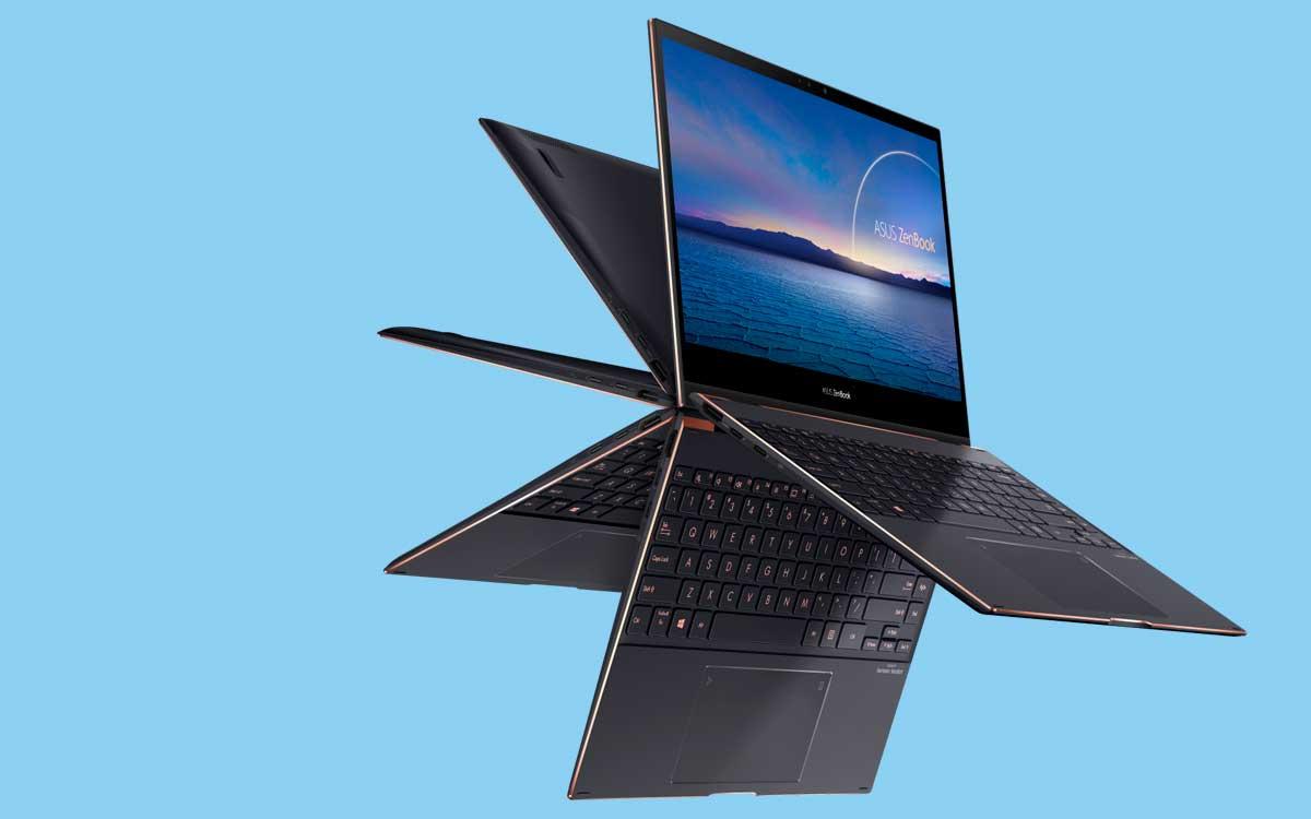 Asus lanza nuevas ZenBook Flip S con pantalla 4K UHD OLED NanoEdge