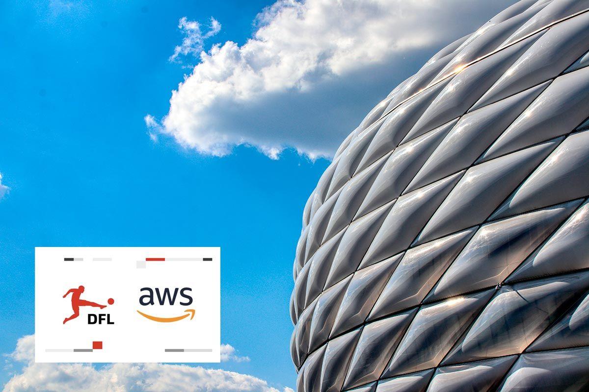 DFL ofrece transmisiones de la Bundesliga internacional apoyadas en la nube de AWS