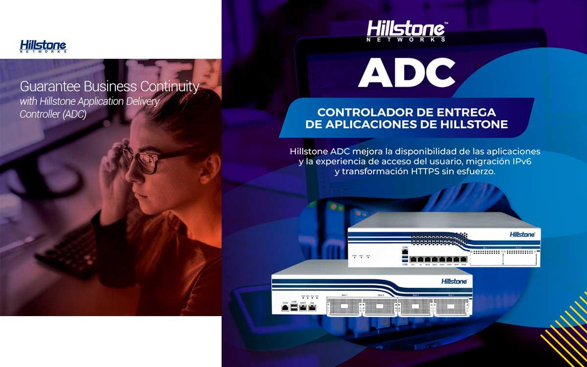 Hillstone Networks anuncia solución de entrega de aplicaciones ADC