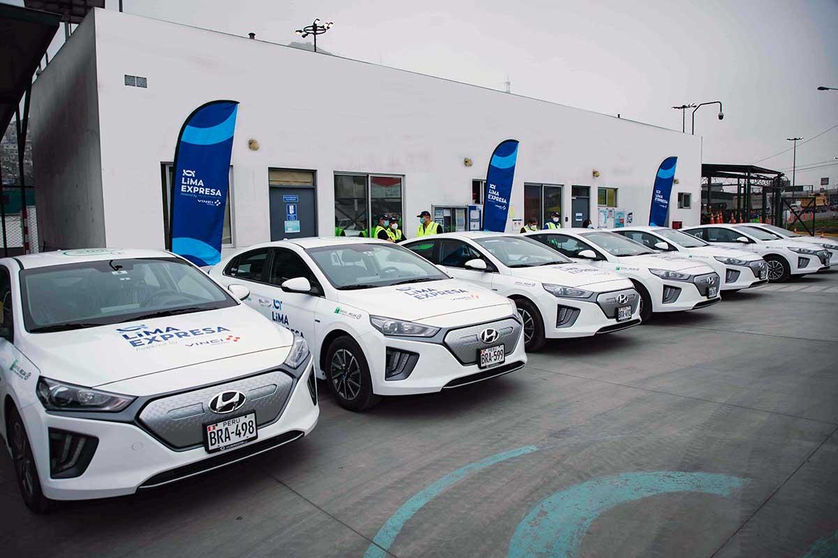 LIMA EXPRESA presenta flota de ocho vehículos eléctricos