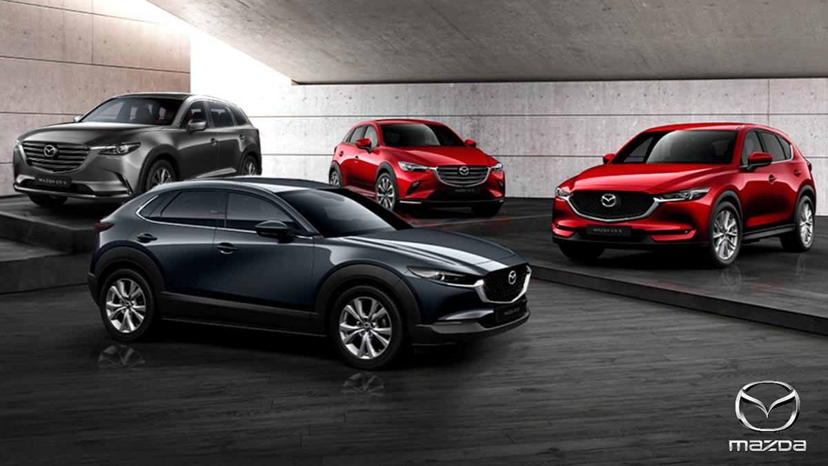 Mazda ofrece un completo portafolio de SUV
