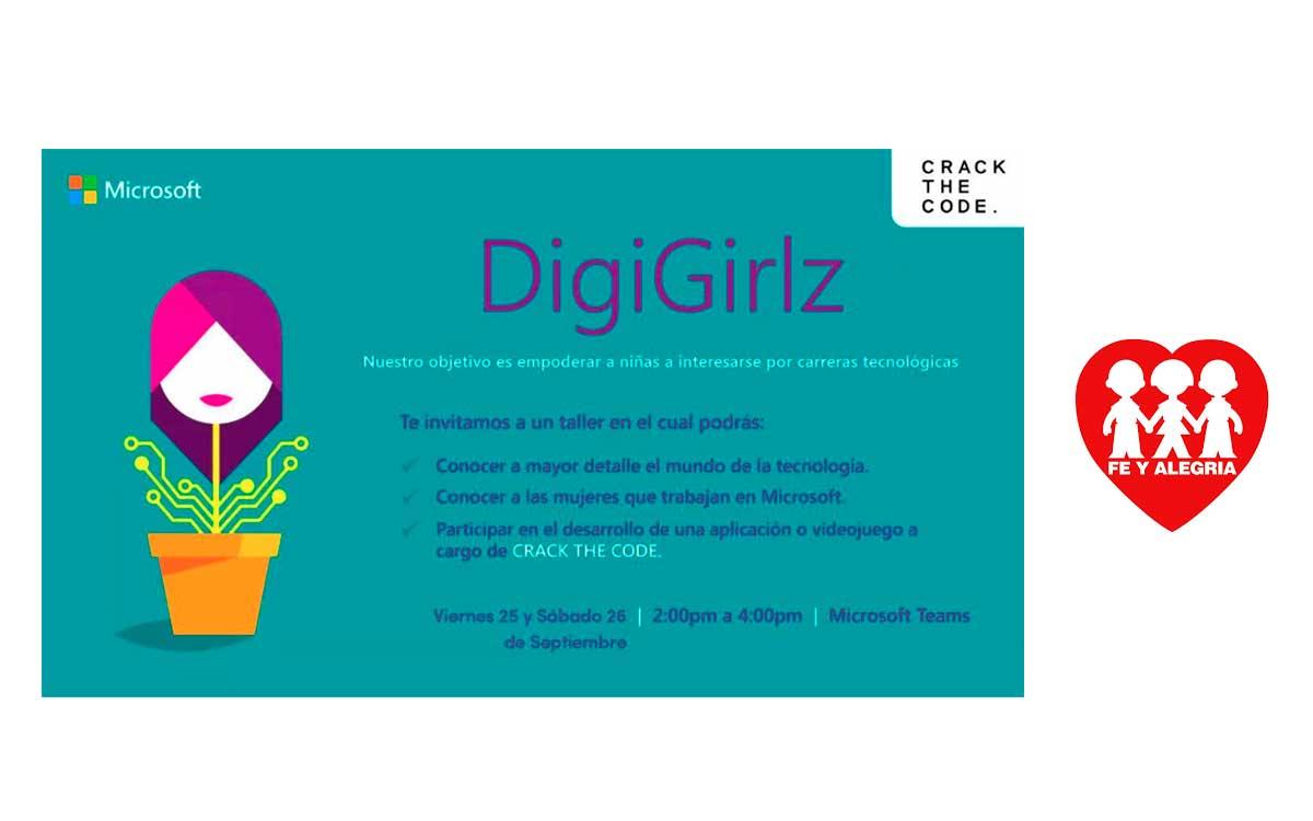 Microsoft organizó segunda edición virtual de DigiGirlz 2020