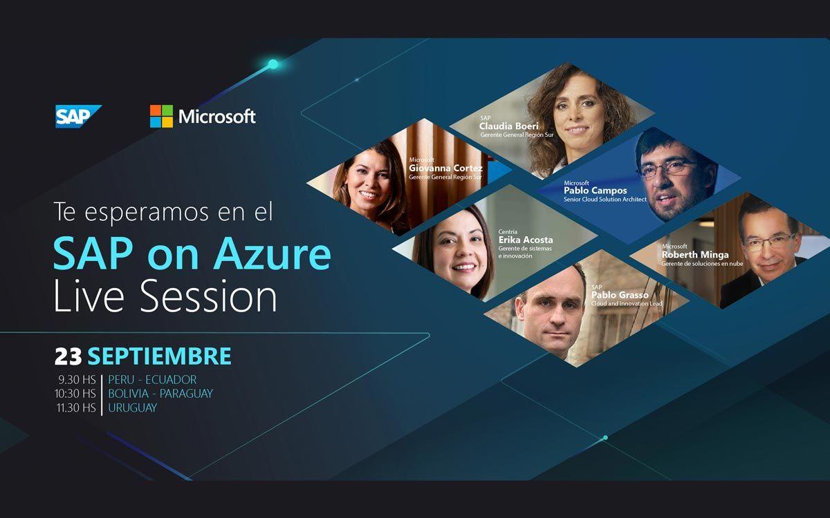 Microsoft y SAP impulsarán la transformación digital para empresas