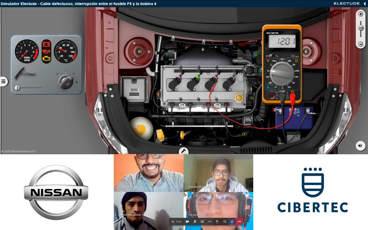 Nissan Perú y Cibertec promueven la primera Competencia de Técnicos Mecánicos Online