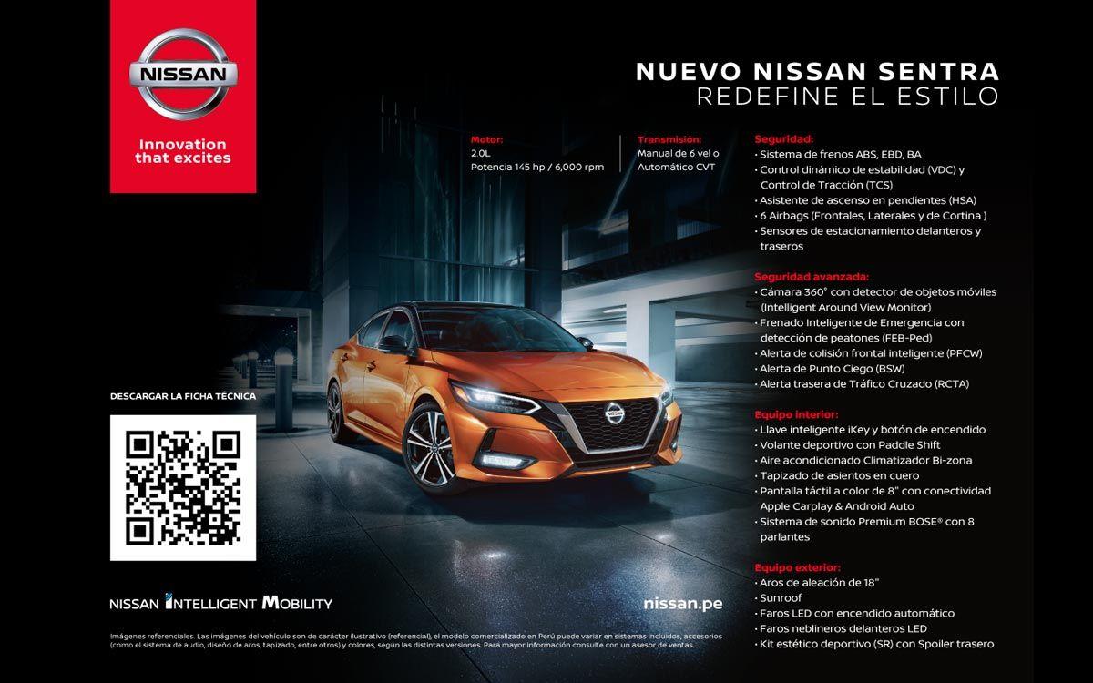 Nissan transforma las fichas técnicas en códigos QR