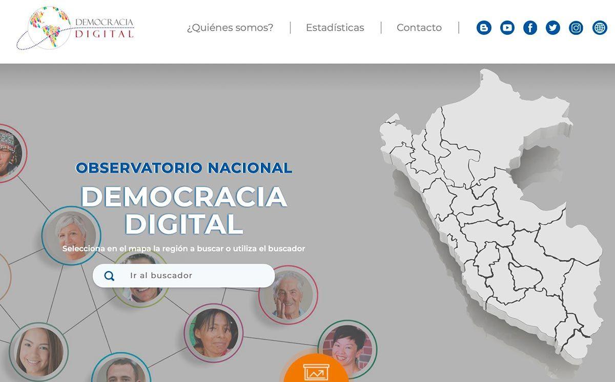 Próxima edición 2020 del Premio Nacional Democracia Digital