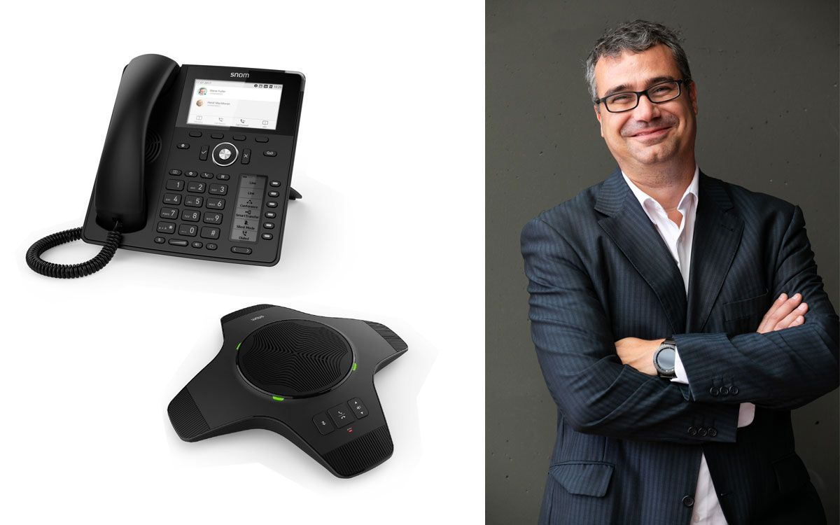 Snom fortalece dispositivos DECT para todas las necesidades de comunicación empresarial