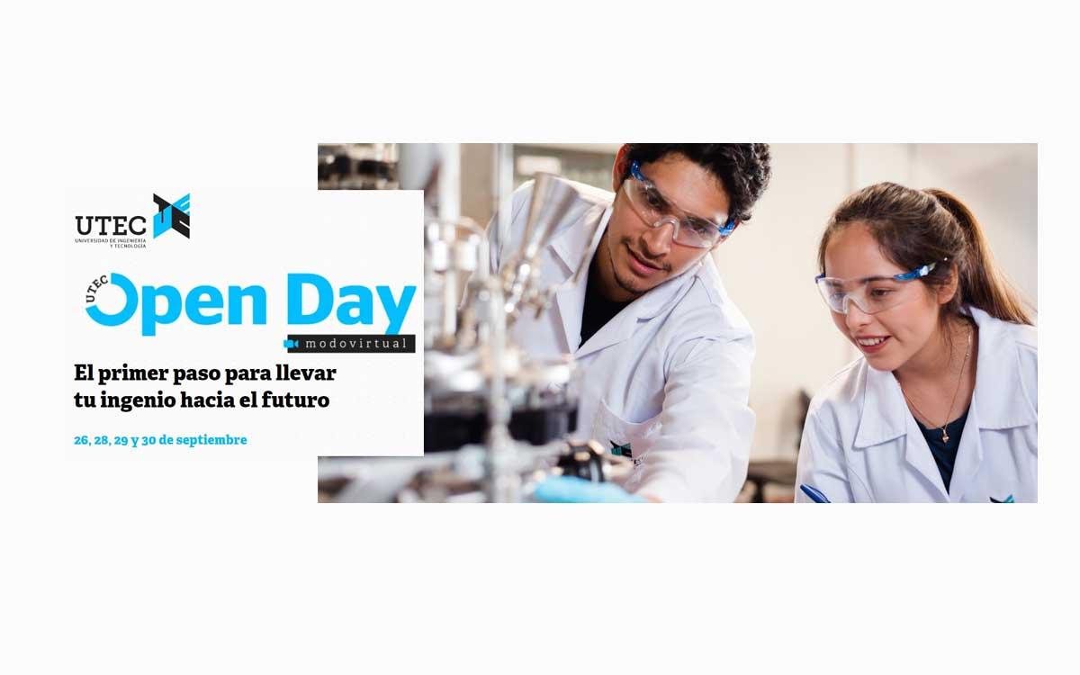 UTEC lanza su Open Day Virtual