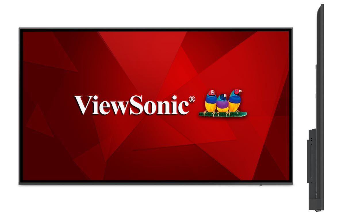 ViewSonic lanza displays de la serie CDE20 que incluyen resolución nativa 4K UHD