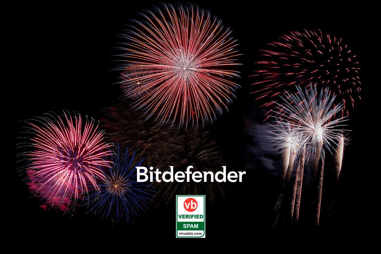 Bitdefender ganó primer lugar en las pruebas de spam de Virus Bulletin
