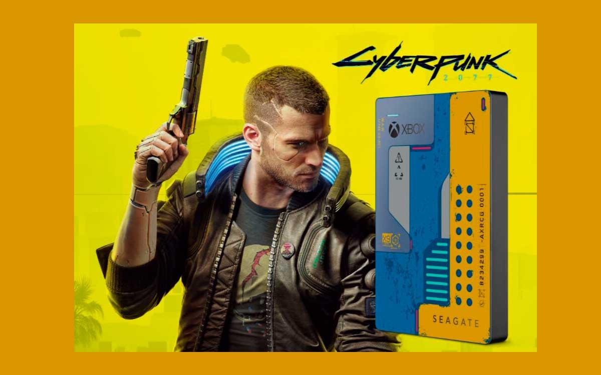 Cyberpunk 2077 nuevo Game Drive para XBOX poderoso y muy llamativo
