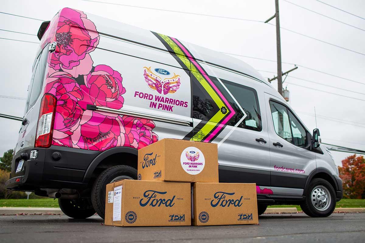 Ford Warriors in Pink distribuirá más de 700 mil mascarillas a centros de tratamiento oncológico