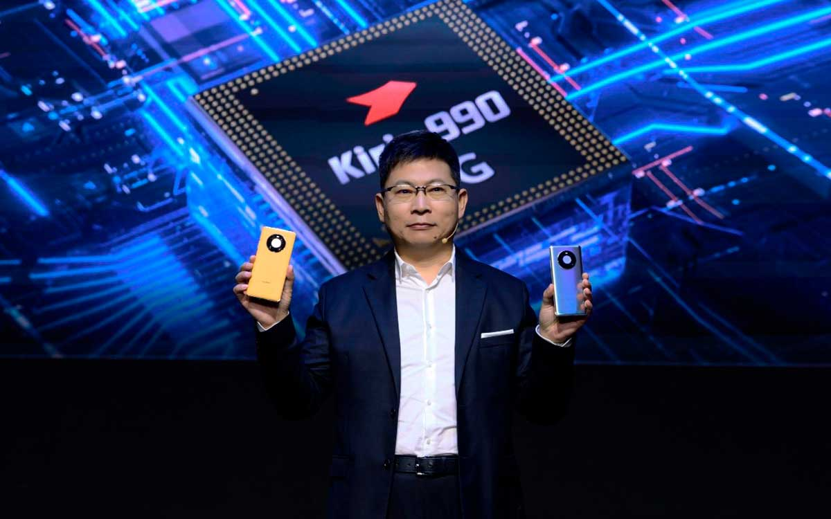 Huawei revela la serie HUAWEI Mate 40
