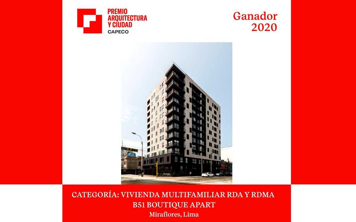 Urbana Perú recibe el premio Arquitectura y Ciudad 2020