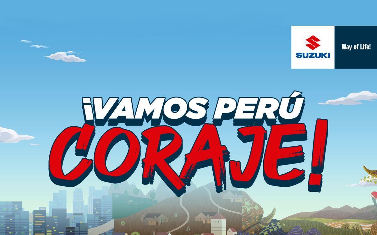 """""""Vamos Perú Coraje"""": la campaña de Suzuki que alienta a los peruanos a salir adelante"""