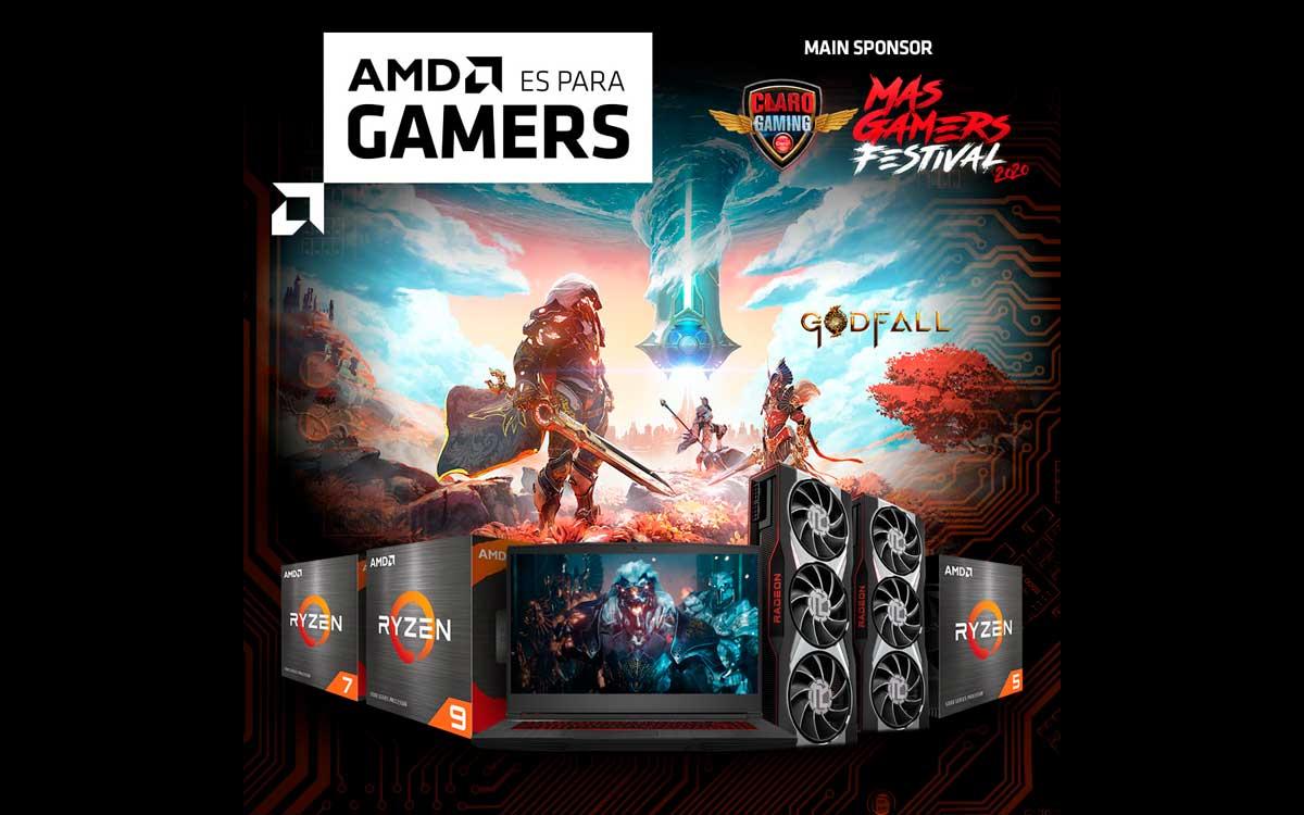 AMD participa como patrocinador principal en el MasGamers Festival