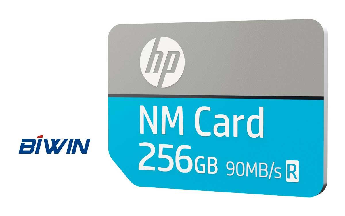 BIWIN presenta nuevas tarjetas de nano memoria de HP NM 100 en Perú