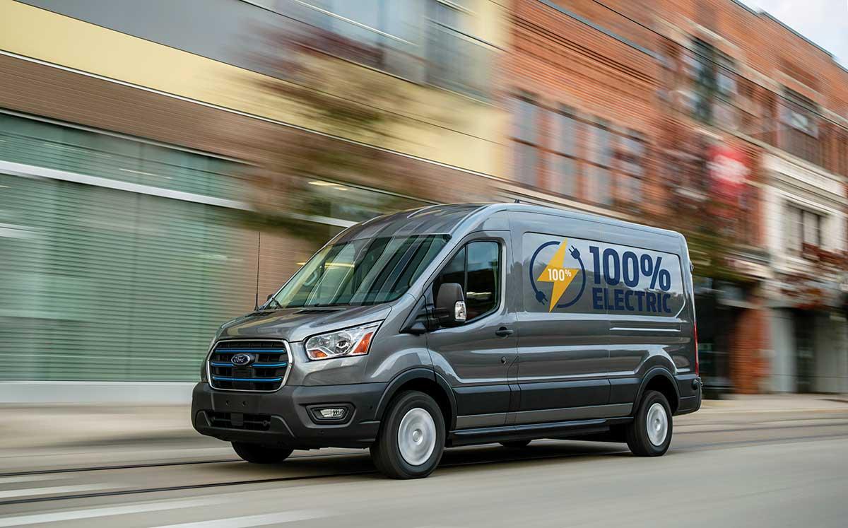Ford E-Transit 100% eléctrica: enciende el futuro del negocio