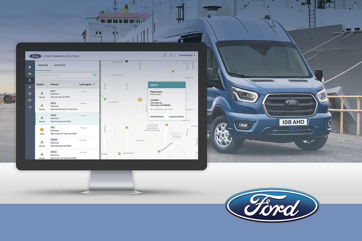 Ford presenta Ford Telematics con nuevas herramientas de conectividad