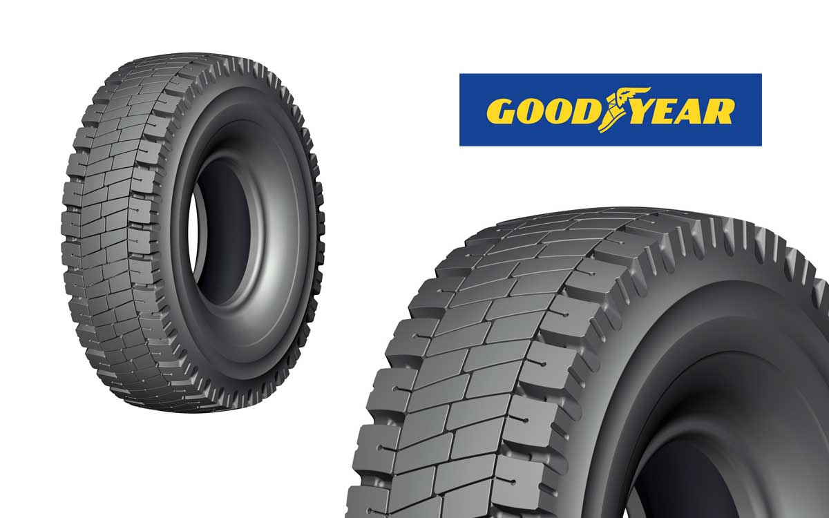 Goodyear presenta neumático RH-4A+ para grandes flotas de Trasporte Minero