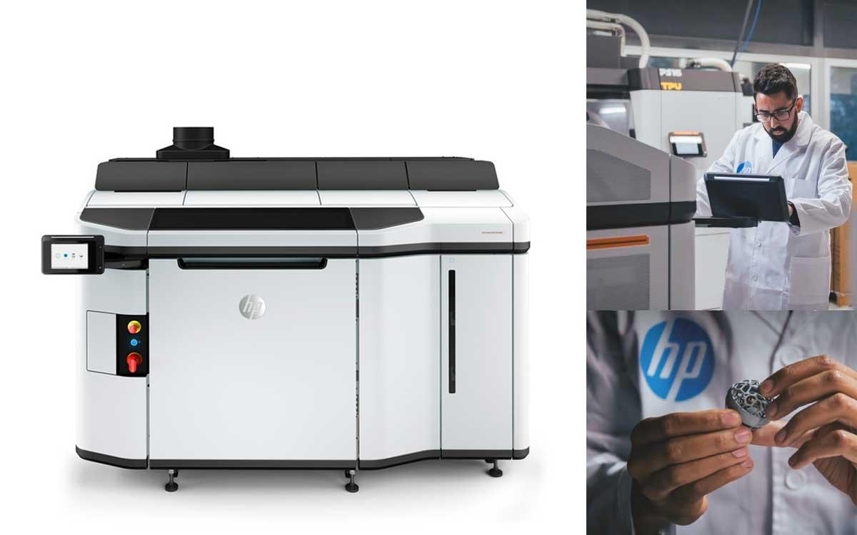 HP presenta nuevas soluciones y avances para la impresión 3D y fabricación aditiva
