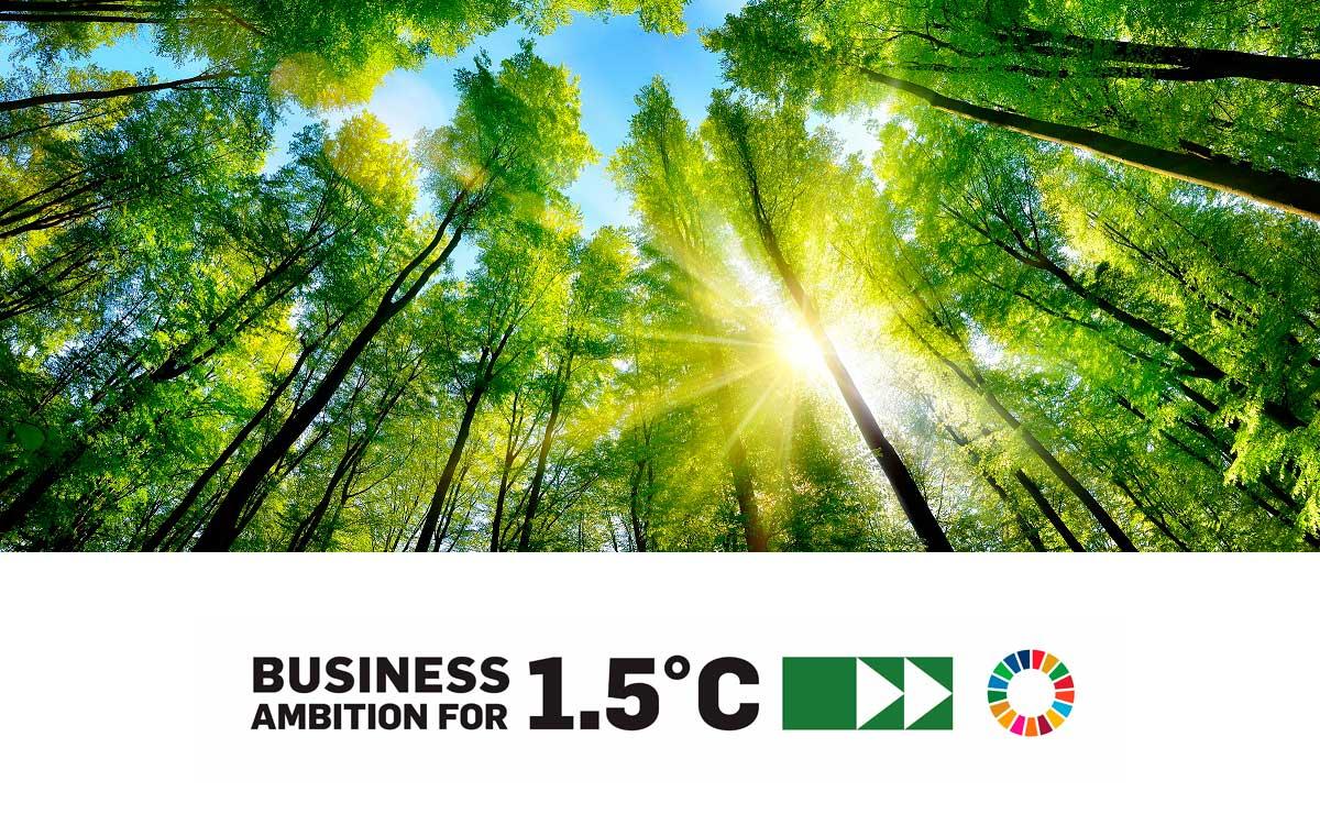 Ricoh se une a la campaña Business Ambition for 1.5°C