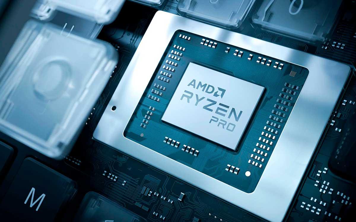 Ryzen Pro Serie 4000 incorpora seguridad por Hardware