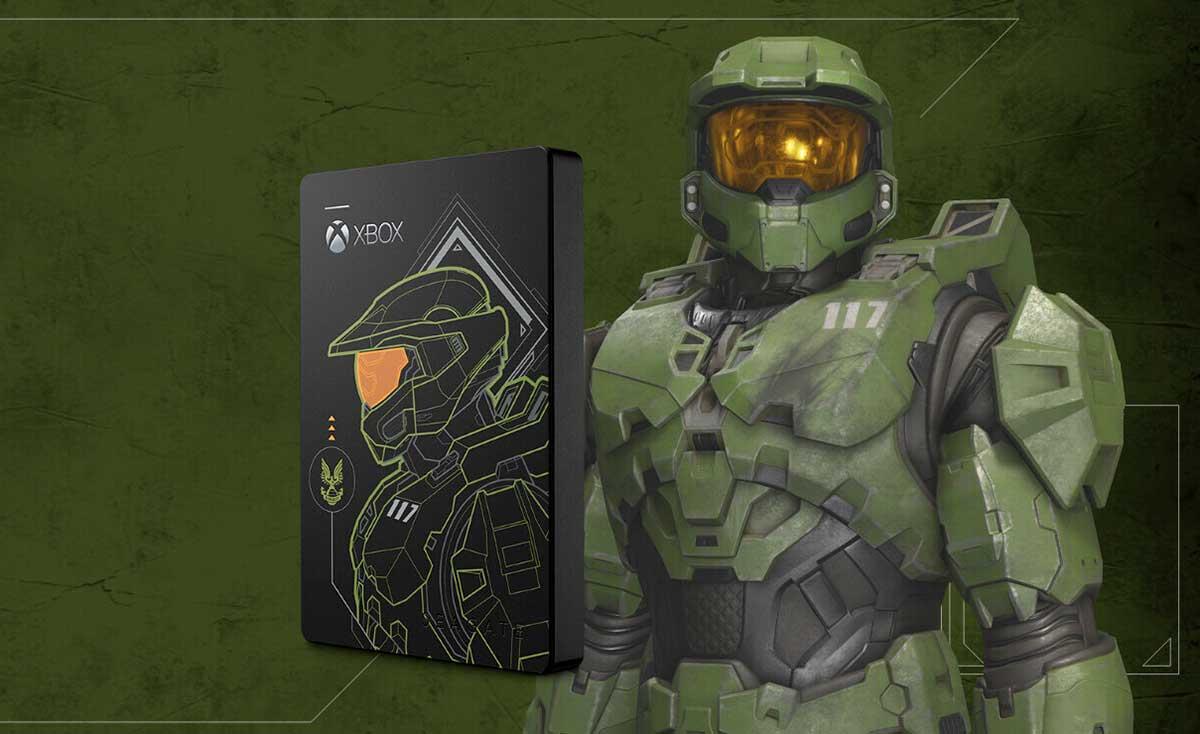Salva el universo de Halo con la edición limitada Master Chief del Game Drive de Seagate
