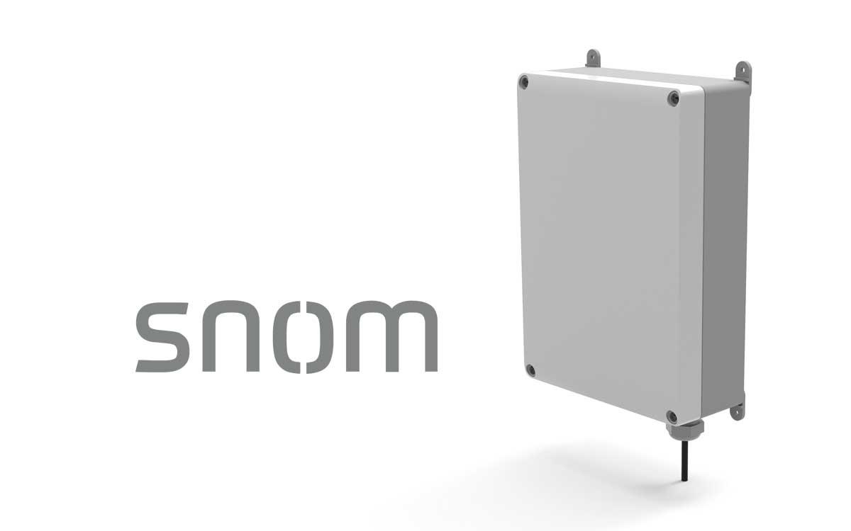 Snom lanza la base DECT Multicelda M900