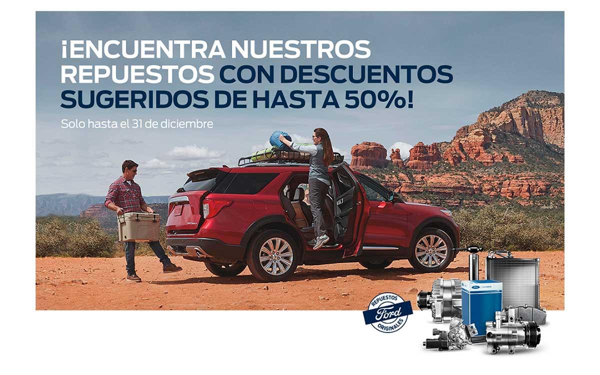 Mañana culmina la campaña de servicio Ford: La seguridad que buscas