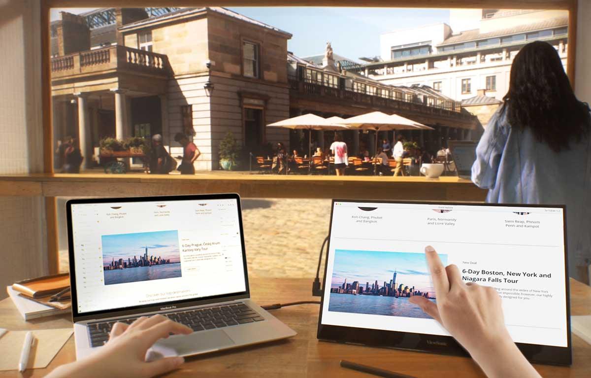 ViewSonic presenta vTouch para facilitar la experiencia táctil de macOS BigSur