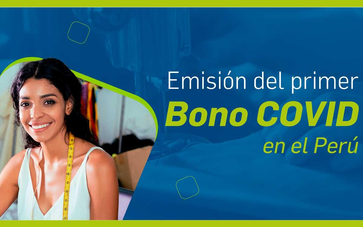 COFIDE emitirá el primer Bono COVID del Perú por 100 millones de Soles