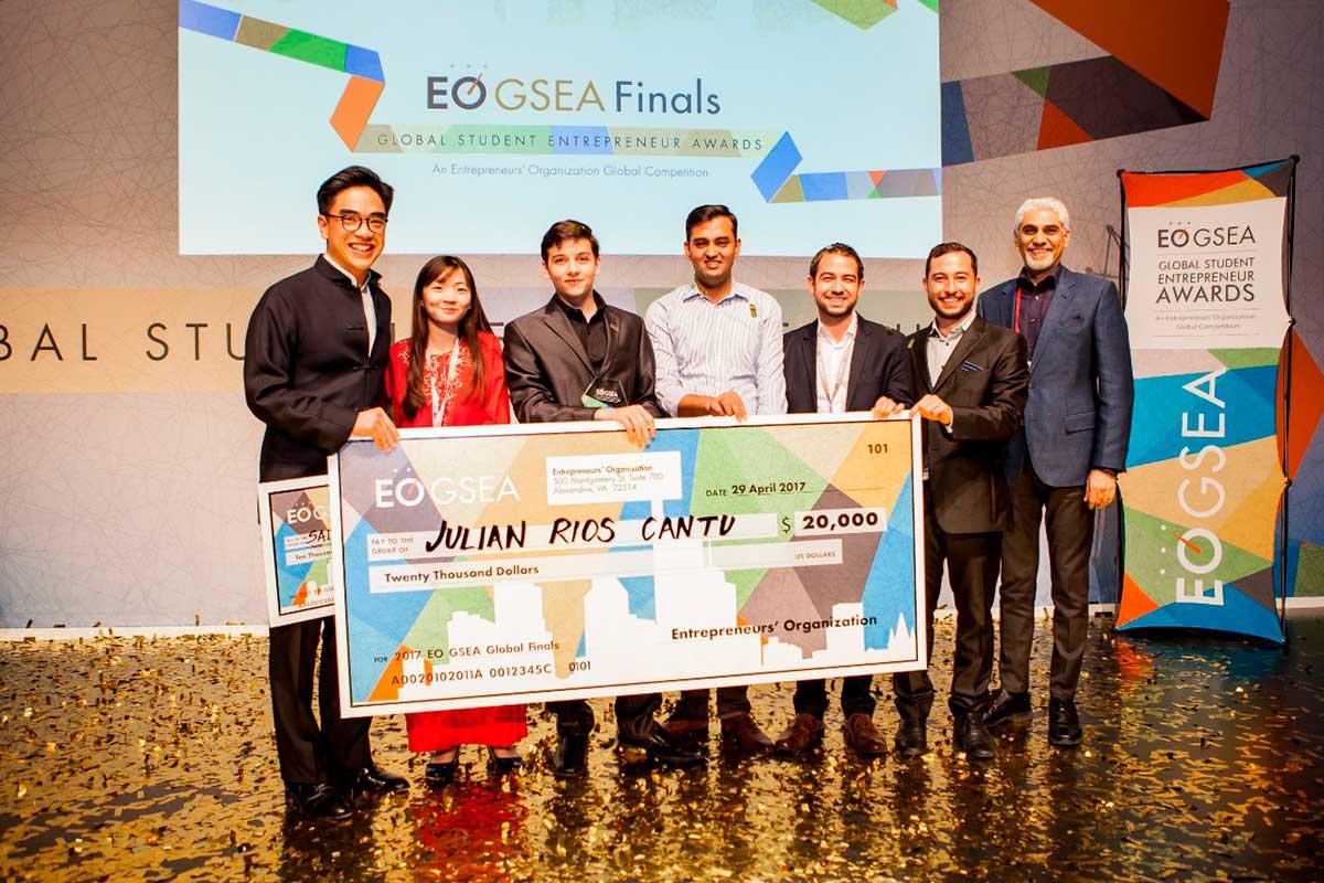 Entrepreneurs Organization premió a estudiantes emprendedores
