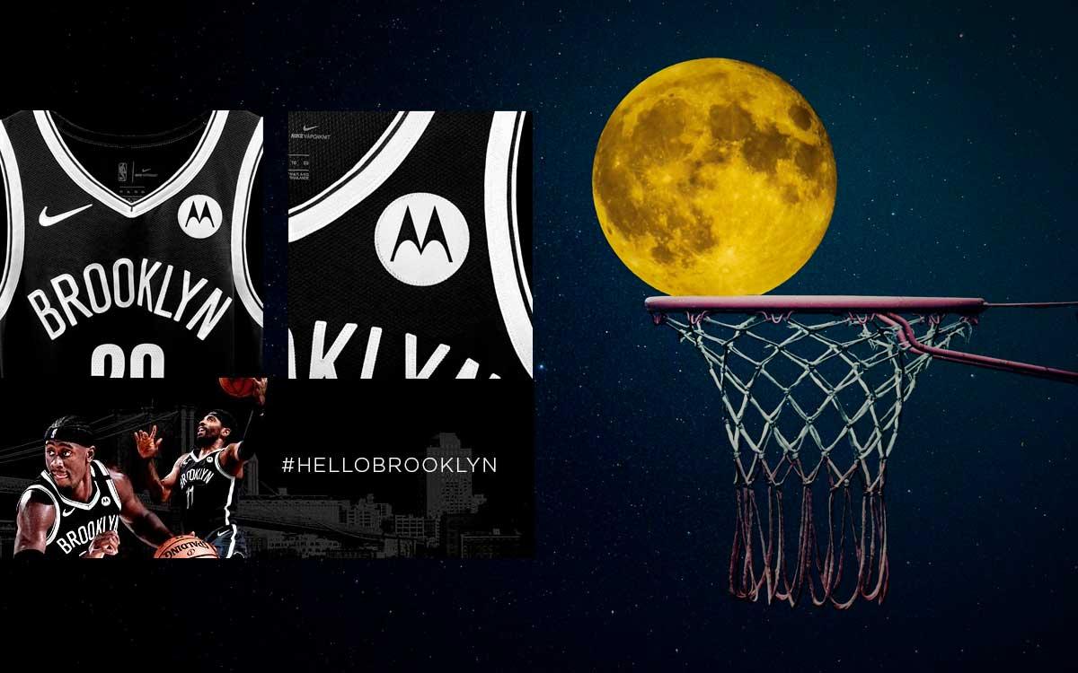 Motorola y Brooklyn Nets anuncian una alianza de patrocinio oficial