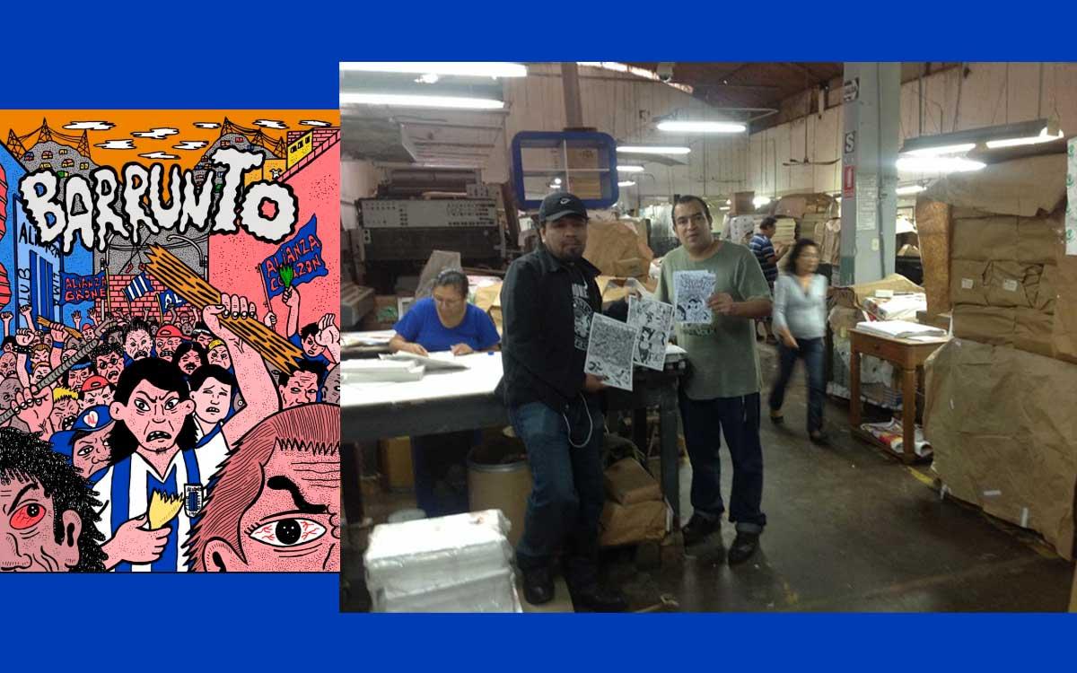 Novela gráfica Barrunto estará en las bibliotecas del Perú
