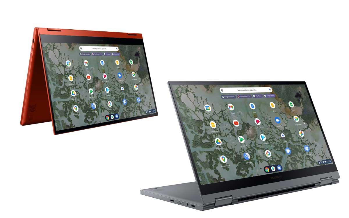Presentan Galaxy Chromebook 2 el primer Chromebook QLED del mundo es de Samsung