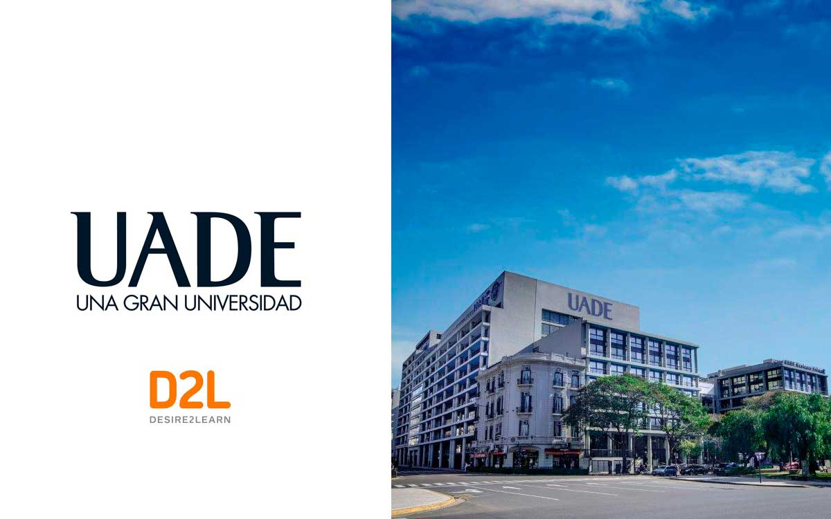 UADE firma acuerdo con D2L para implementar Brightspace