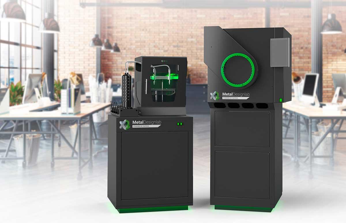 ExOne lanza ExOne Metal DesignLab poderosa impresora 3D de metal