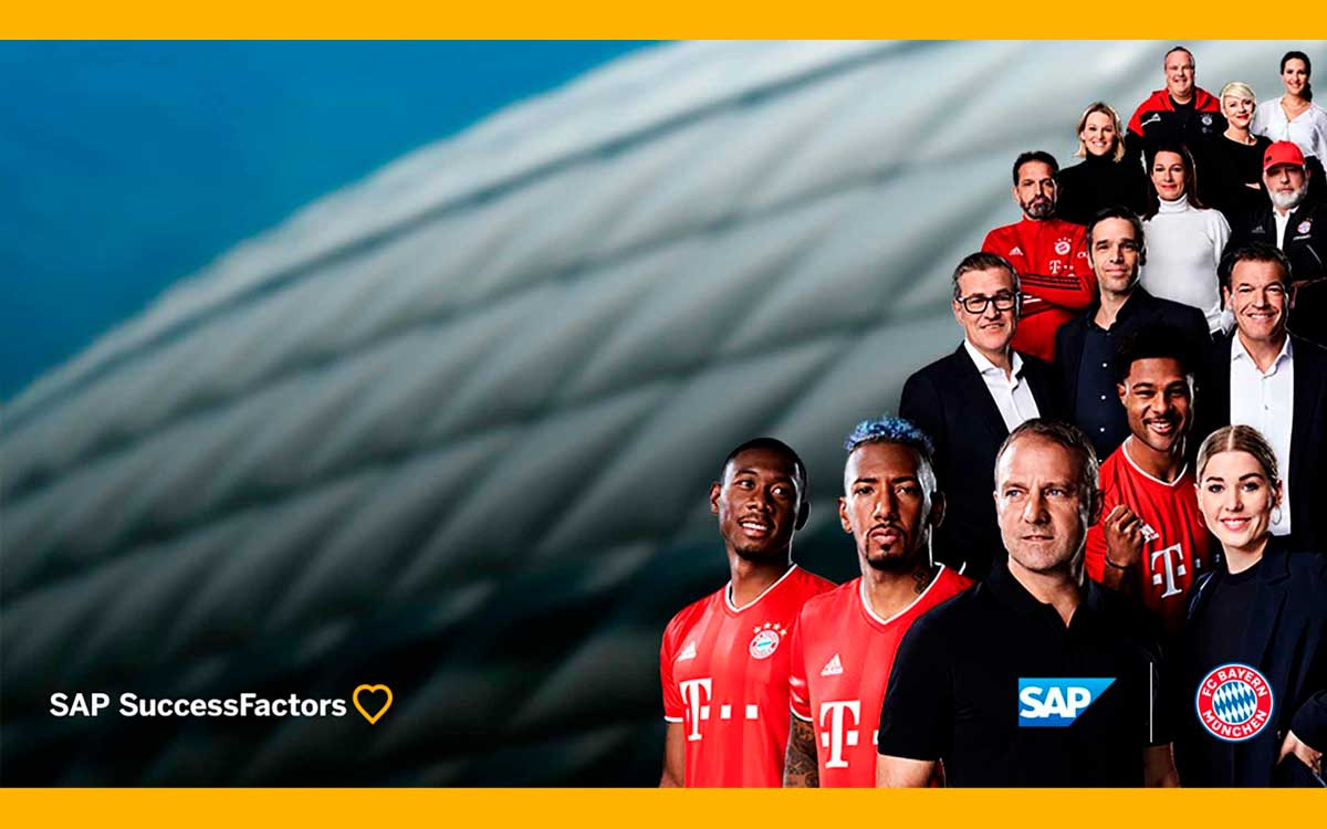 FC Bayern mejora las capacidades digitales de recursos humanos con SAP SuccessFactors Employee Central