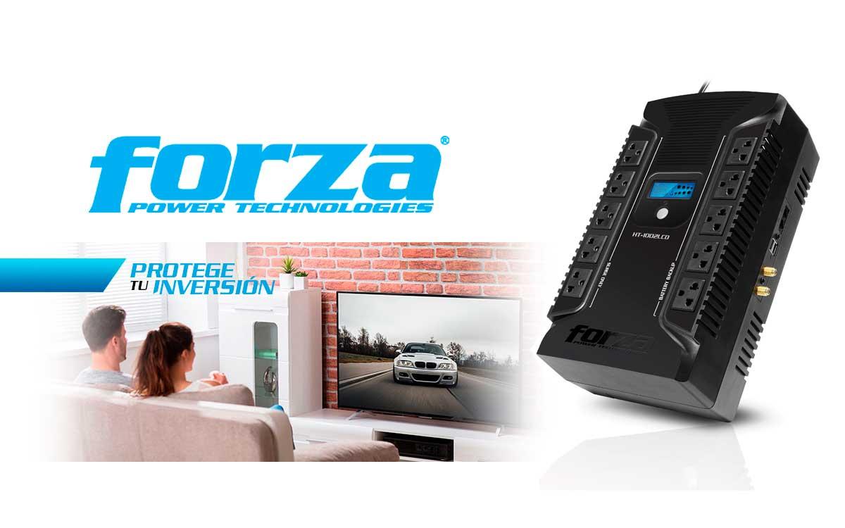 Forza ofrece la protección adecuada para tu home office