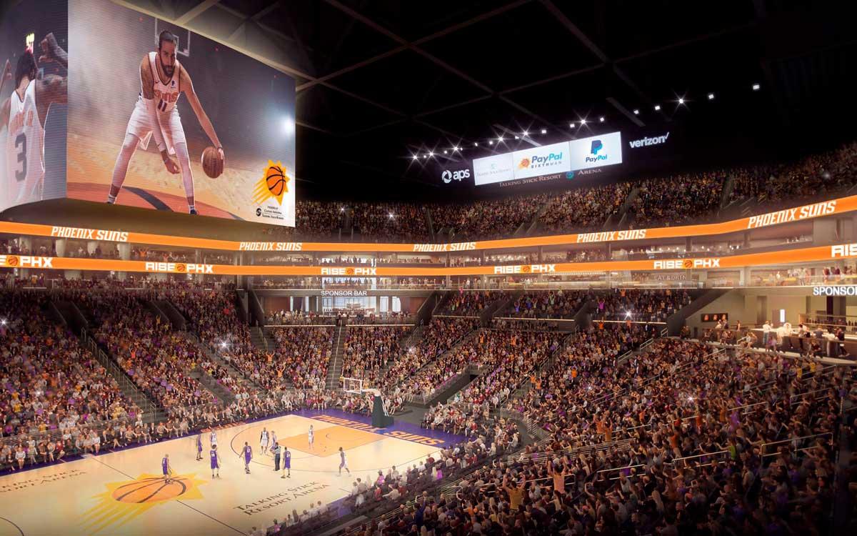 Smiths Detection equipa a Phoenix Suns Arena con sistemas de inspección por rayos X