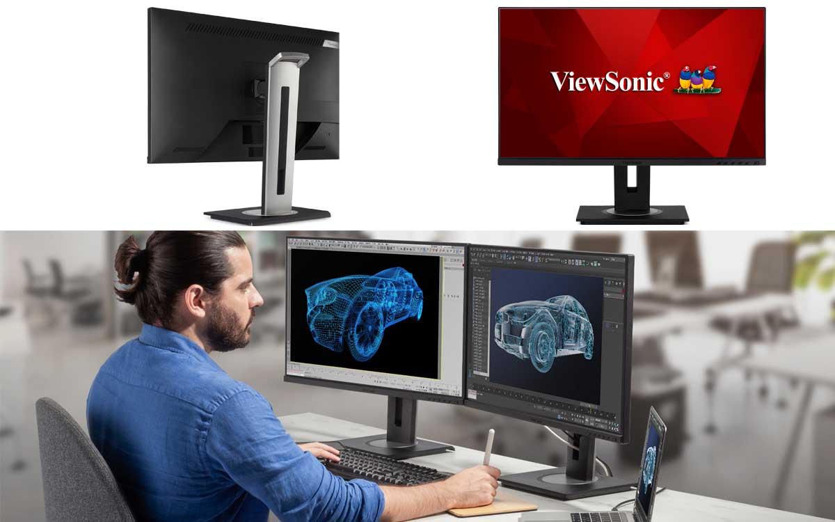 ViewSonic amplía serie de monitores de acoplamiento con los modelos VG2756-2K y VG2756-4K