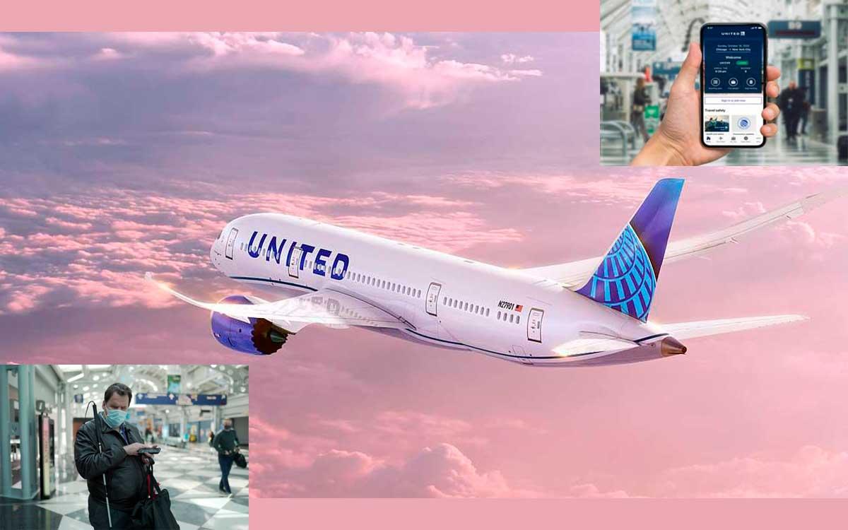 United Airlines rediseña su App para ser más accesible para personas con discapacidades visuales